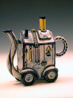 funky tea pot