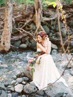 Boho Maui Wedding Inspiration Featured on Ruffled Blog!