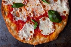 Jim Lahey's No-Knead Pizza Dough + Margherita Pie, a recipe on Food52. Jim Lahey has refined his revolutionary no-knead bread technique for pizza &, astonishingly, it's even easier. Though Lahey loves smart, unusual toppings like charred thai eggplant w/ bonito flakes, shiitake w/ walnut onion puree, & cheese piled w/ spinach leaves, here we went w/ his version of the classic Margherita Pie. Lahey would want you to feel free to tinker, & to feel free to freeze the dough. Adapted very…