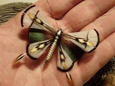Butterfly with woven body. By Heinz Zöldi