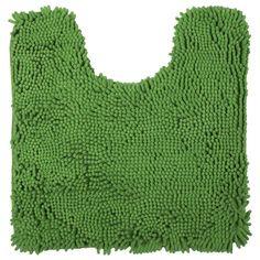 Коврик для туалета Cingolo, 50х50 см, полиэстер, цвет зелёный