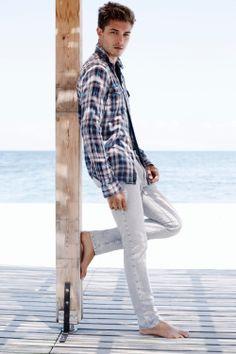 Francisco Lachowski. Mavi Jeans SS15