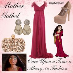Disney Style: Mother Gothel, created by trulygirlygirl on Polyvore