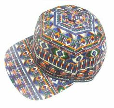 Native Print Multi Color Stripe Snapback Baseball Cap Hat New  Price: $17.50 & FREE Shipping on orders over $35.