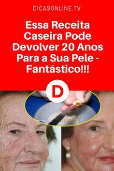 Antirrugas com salsinha | Essa Receita Caseira Pode Devolver 20 Anos Para a Sua Pele - Fantástico!!!