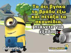 Minions, Jokes, Humor, Fictional Characters, The Minions, Husky Jokes, Humour, Memes, Funny Photos