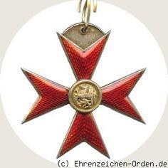 Grand Duchy of Mecklenburg-Schwerin. German States. Access Order Grand Cross Donated: September 15, 1884 by Grand Duke Friedrich Franz IV and V. Adolf Friedrich. Awarded: 1884 - 1918