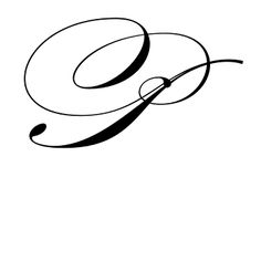Latin Capital Letter P, Swash