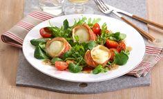 Blattsalat mit gebackenem Ziegenkäse | alt?Model.MainBrand:
