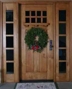 Oak front door and frame with half glazed sidelight | My Dream House ...