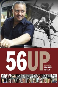 56 Up Movie Poster - Michael Apted  #56Up, #MoviePoster, #Documentary, #MichaelApted