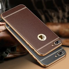 For iPhone 7 7 Plus Case Luxury Soft TPU Back Cover Case For iPhone 7 7 Plus 5 5s 6 6s Plus Phone Bag Cover Fundas Coque