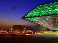 Entrance of airport Taiwan