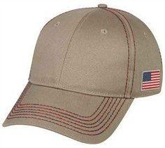 Cotton Twill Flag Cap e177d15e289e