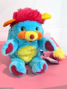 Popples I thought I had made these horrible things up, oh dear god they are real!