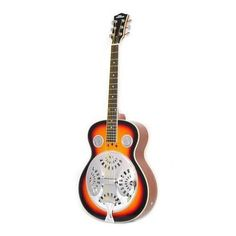 6-String Acoustic Resonator Guitar, Full Scale Resophonic, Accessory Kit Included