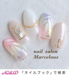 Nail Art Hacks, Gel Nail Art, Acrylic Nails, Kawaii Nail Art, Japan Nail, Japanese Nail Design, Asian Nails, Korean Nail Art, Soft Nails