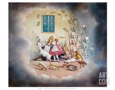 Alice in Wonderland Print at Art.com