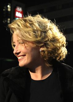 Love Emma Thompson's hair