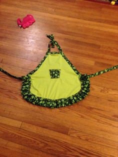Child Shamrock Apron