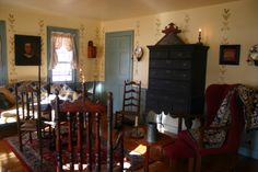 Early American Black Highboy Decor Ideas Periodic Colonial Colonial