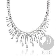 Global Wealth Trade Corporation - FERI Designer Lines Beautiful Necklaces, Diamond, Wealth, Silver, Glamour, Jewelry, Design, Jewlery, Money