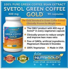 Green Coffee Bean Extract for weight loss fast dr oz