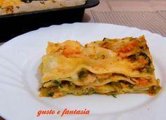 Le lasagne al salmone e zucchine sono un ottimo primo piatto sfizioso e dal gusto eccezionale. Una eccellente alternativa alle classiche lasagne al ragù.