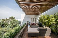 Maconsa — Penthouse San Isidro Pergola, Outdoor Structures, Terrace, Cities, Houses, Arbors