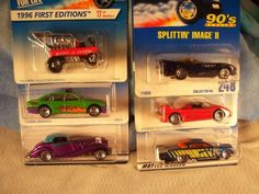 Lot-of-6-Early-90s-Hot-Wheels-First-Editions-Check-it-out