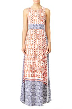"""I love love the pattern of this dress. It ended up having high slits in the front which made it not an """"everyday"""" dress (didn't love that) Rent Dresses, Casual Dresses, Summer Dresses, Formal Dresses, Summer Vacation Style, Rent The Runway, Dress Images, Everyday Dresses, Ladies Party"""