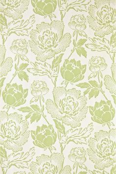 """""""Peony"""" --from the Chelsea Papers collection. It takes inspiration from the ornamental flower, is a bold, curvaceous pattern, & brings contemporary glamour to traditional floral design."""