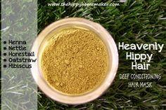 Heavenly Hippy Hair - Deep Conditioning Hair Mask  The Hippy Homemaker