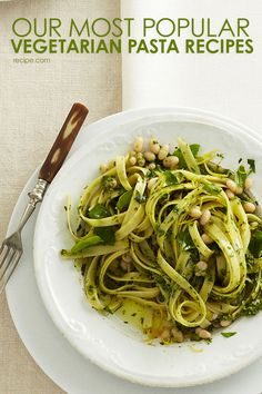 Try these hearty vegetarian pasta dinners.