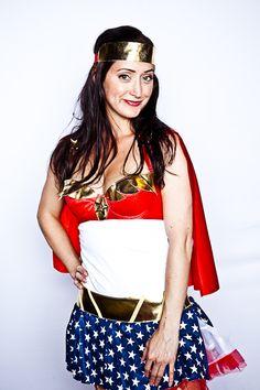 Rethink Romp 2010 | #superhero #red #blue #white #america #stars #cape #headpiece #creative #inspiration #ideas #crimsonphotos | Photography By: Crimson Photos