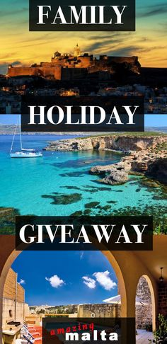 Win the 5* FAMILY HOLIDAY of a lifetime thanks to the Kid Trotter Travel series- I dare you watch the giveaway video and not be filled with wanderlust !! Sign up now !!