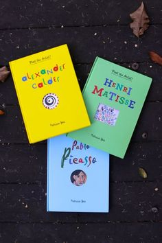 Meet the Artist Series for kids: recommended by designmom, interactive books to teach kids about art