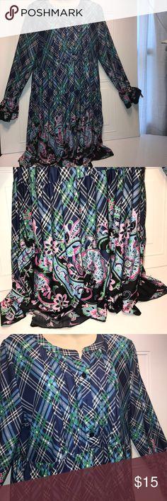 REBORN Dress Beautiful Maturity dress perfect for tights. Beautiful like new. Shoulder to shoulder 17 inches pit to pit 20 inches shoulder to bottom of Dress about 35 inches. Pit to bottom of sleeve 20 inches. REBORN Dresses Long Sleeve