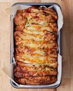 Ham And Garlic Pull Apart Garlic Bread Recipe by Tasty