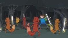 What Does the Fox Say? - The Adventure Time Parody [Video]