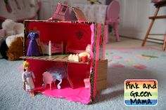 more cardboard box activities to try!