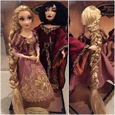 Disney Barbie Dolls, Disney Princess Dolls, Disney Tangled, Disney Art, Rapunzel, Sleeping Beauty Doll, Baby Doll Set, Custom American Girl Dolls, Disney Theory
