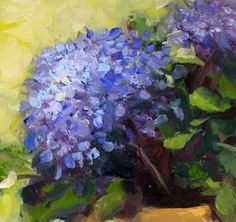 hydrandgea painting - - Yahoo Image Search Results