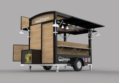 Food Truck Carros De Comida Ideas For 2020 Mobile Food Cart, Mobile Food Trucks, Food Cart Design, Food Truck Design, Food Stall Design, Foodtrucks Ideas, Coffee Food Truck, Mobile Coffee Shop, Coffee Trailer