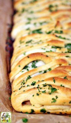 Turkey Cranberry Crescent BraidFollow for recipesGet your  Mein Blog: Alles rund um die Themen Genuss & Geschmack  Kochen Backen Braten Vorspeisen Hauptgerichte und Desserts