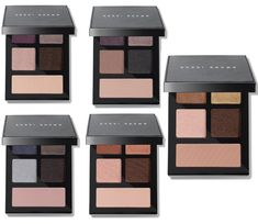 Bobbi Brown Fall 2019 The Essential Multicolor Eye Shadow Palettes and Skincare Products