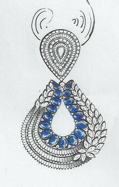 er Real Diamond Earrings, Diamond Brooch, Diamond Gemstone, Diamond Jewelry, Jewelry Art, Gold Jewelry, Jewelery, Jewelry Accessories, Jewelry Design Drawing