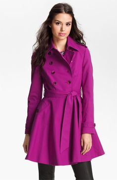 Ted Baker London Double Breasted Trench Coat available at #Nordstrom