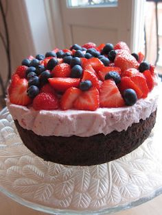 Cake Decorating, Cheesecake, Good Food, Food And Drink, Pie, Vegetarian, Sweets, Baking, Fruit