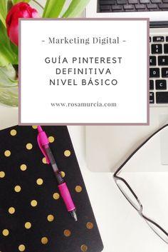 Conoce cómo crear una cuenta en Pinterest y personalizarla para atraer tráfico a tu web o blog #pinterest #pinterestenespañol #guiapinterest #comofuncionapinterest